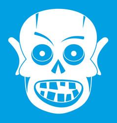 Living dead icon white vector