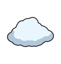 Cloud weather sky climate icon graphic vector