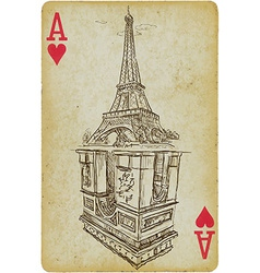 Aces of paris vector