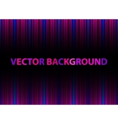 Color Light Lines Background vector image