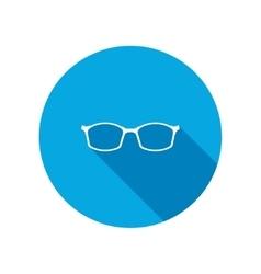 Eye glasses optical glass appliance for vision vector