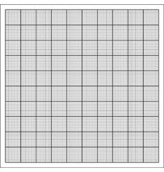 Grid paper vector