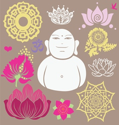 Budda set vector