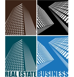 business Centre vector image vector image