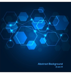 Digital scheme abstract background vector image