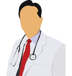 doctor vector image vector image