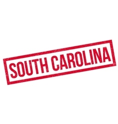 South carolina rubber stamp vector
