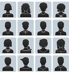 Avatars set vector