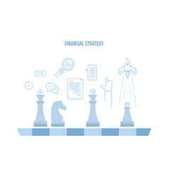 Time planning operations financial performance vector