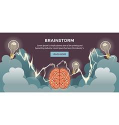 Brainshtormpr vector image
