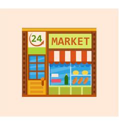 Convenience store vector