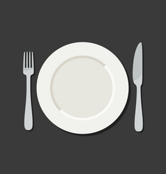 utensil in flat style vector image vector image