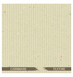 Simple cardboard texture vector image vector image