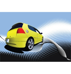 small car vector image vector image