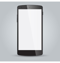 Black business mobile phone style isolated on vector