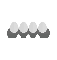 Eggs tray vector