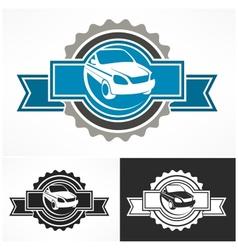 Auto sign award vector image