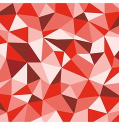 Red Mosaic Background Creative Business Design vector image