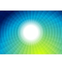 Tech bright futuristic abstract background vector image vector image