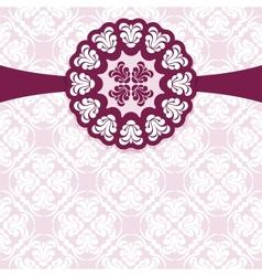 Vintage elegant ornament vector image vector image