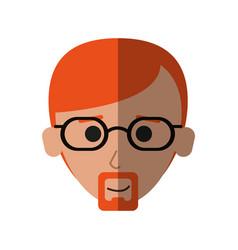Happy man icon image vector