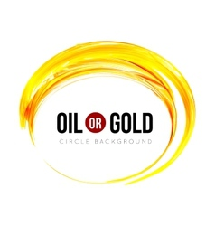 Oil or gold vector image vector image