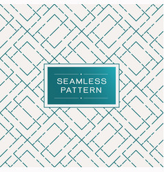 retro seamless pattern with simple line and dot vector image vector image