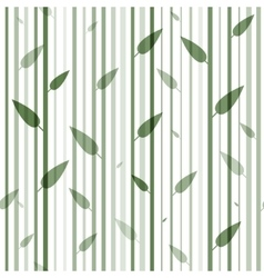 Seamless green and white pattern of stovolov trees vector image vector image
