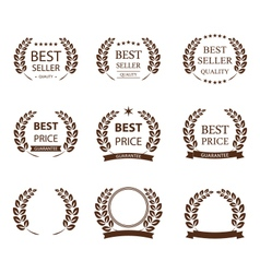 Best seller symbol set vector