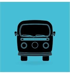 Car retro design vector