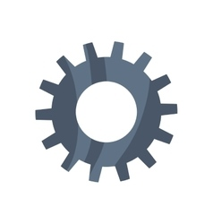 Gear cog circle machine part icon graphic vector