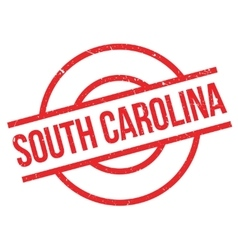 South carolina rubber stamp vector