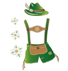 Oktoberfest clothing vector