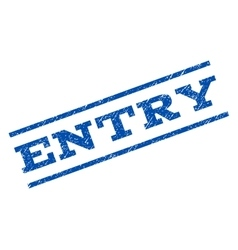 Entry watermark stamp vector