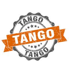 Tango stamp sign seal vector