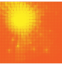 Abstract sun halftone background for your design vector