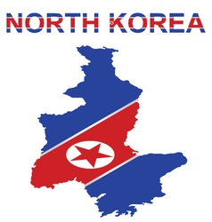 North korea vector