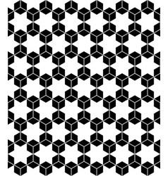 Hexagons seamless pattern vector