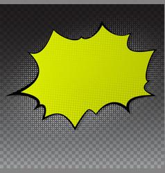 pop art splash background explosion in comics vector image vector image