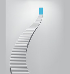Stairway to the Heaven Door vector image