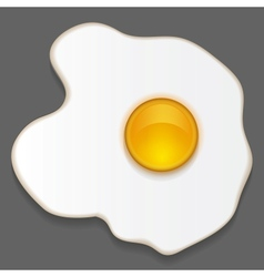 Scrambled egg vector