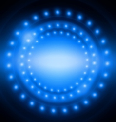 Abstract circle light blue background vector