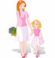 Mother's day illustration vector
