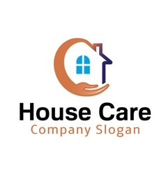 House Care Design vector image
