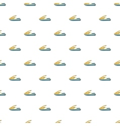 Jet ski pattern cartoon style vector