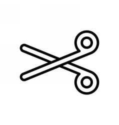 Scissors Outline Icon vector image