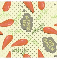 Vintage food patterns vector image vector image