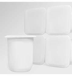 yogurt vector image