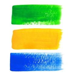 Brazil acrylic banners vector image
