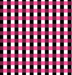 Seamless gingham pattern geometric background vector